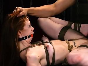 Rope bondage Sexy young girls, Alexa Nova added to Kendall