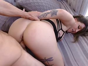Fuck mommy in the ass and make her pay off sperm