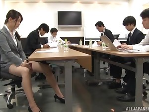 Plain vanilla fucking in the office just about accurate tits secretary and her boss